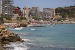 Resort of Calp - Alicante Province - Spain Stock Photo