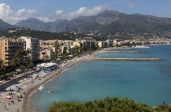 Resort of Cap Martin - French Riviera Royalty Free Stock Image