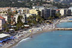 Resort of Cap Martin - French Riviera - France Royalty Free Stock Photo