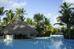 Resort in Caribbean Stock Photography