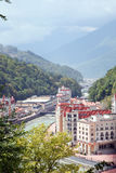 Resort in Caucasus Mountains Royalty Free Stock Photo