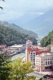 Resort in Caucasus Mountains Royalty Free Stock Photo