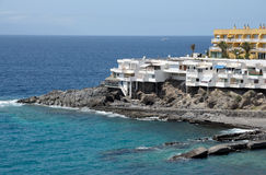 Resort on the coast of Tenerife, Spain Stock Photos