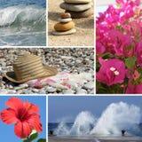 Resort collage2 royalty free stock image