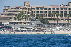 Resort Condos. Lands End Sea of Cortez resort condos in Cabo San Lucas Mexico Stock Photography