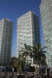 Resort Condos in Mexico. Highrise buildings of vacation condominiums near Puerto Vallarta Mexico Stock Photography