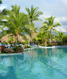 Resort in Costa Rica with pool Stock Images