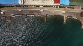 Resort in Crimea stock video footage