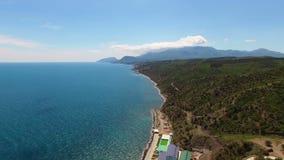 Resort in Crimea stock video