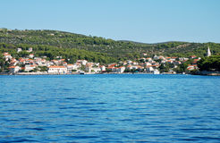 Resort in Croatia royalty free stock photography