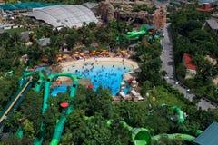 Resort da ilha de Sentosa fotografia de stock royalty free