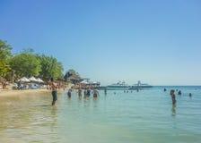 Resort da ilha tropical em Cartagena Colômbia Fotografia de Stock