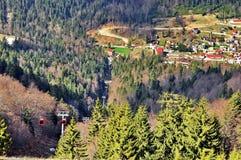 Resort de montanha imagem de stock royalty free