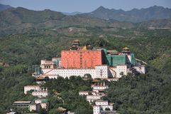 Resort de montanha de Chengde Fotografia de Stock
