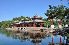 Resort de montanha de Chengde Imagens de Stock