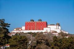 Resort de montanha de Chengde em Putuo, província de Hebei Imagens de Stock