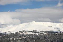 Resort de montanha do inverno Fotografia de Stock Royalty Free