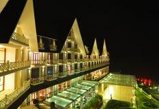 Resort de montanha luxuoso em Dalat, Vietname Imagens de Stock Royalty Free