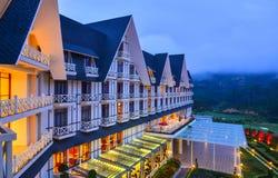Resort de montanha luxuoso em Dalat, Vietname Imagem de Stock Royalty Free