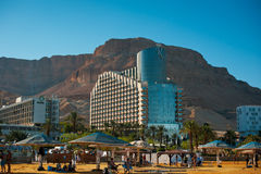 Resort on the Dead sea, Israel . stock photos