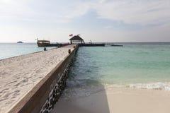 Resort dock Stock Photos