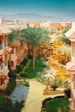 Resort in Egypt Royalty Free Stock Photo