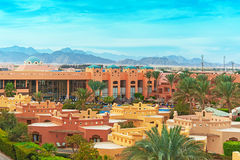 Resort in Egypt Royalty Free Stock Photography