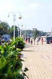 Resort esplanade Royalty Free Stock Image