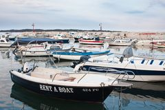 Resort Fazana, Croatia Royalty Free Stock Photography