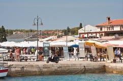 Resort Fazana, Croatia Royalty Free Stock Photo