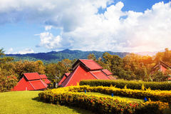 Resort in the forests Royalty Free Stock Images
