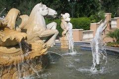Resort Fountain Royalty Free Stock Photos