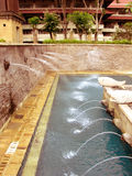 Resort Fountains Stock Photo