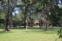 Resort on Gili Island, Indonesia. Resort on the Gili Island, Indonesia Stock Photography
