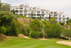 Resort golf Royalty Free Stock Images