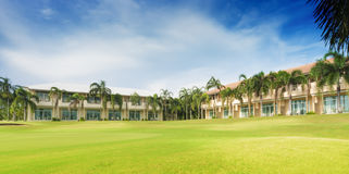 Resort in golf course Stock Images