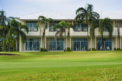 Resort in golf course Stock Photography