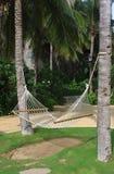 Resort hammock Royalty Free Stock Photography