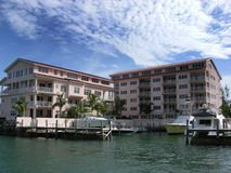 The Resort Harbour Royalty Free Stock Photography
