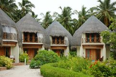 Resort Homes. Houses at a island resort stock image