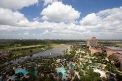 Resort Hotel Stock Photo