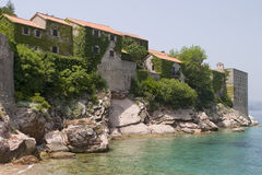 Resort Hotel On Adriatic Sea Stock Photo