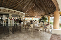 Resort Hotel in Mexico Royalty Free Stock Photos