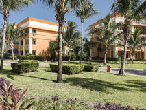 Resort Hotel in Mexico Stock Photography