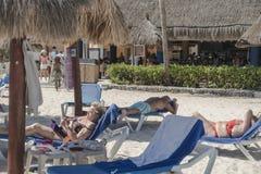 Resort Hotel in Mexico Stock Photo