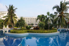 Resort hotel in sanya Stock Photography
