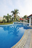 Resort hotel in sanya Stock Images
