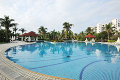 Resort hotel in sanya Royalty Free Stock Photos