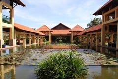 Resort hotel in Vietnam Stock Images