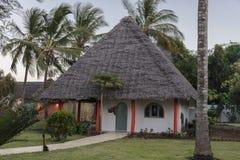 Resort hotel on Zanzibar Island Stock Photography